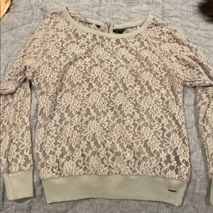 Very cute lace sweater
